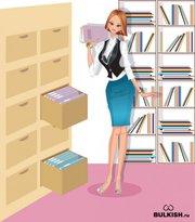 Сотрудник в архивный отдел